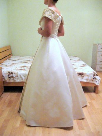 Платье свадебное крем/айвори