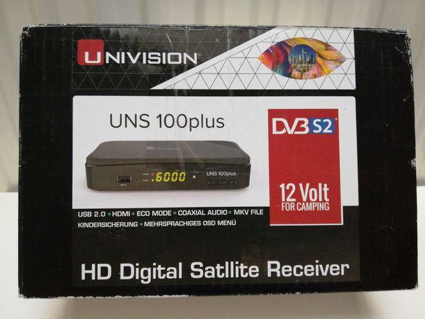 Tuner Satelitarny UNIVISION UNS 100plus FTA