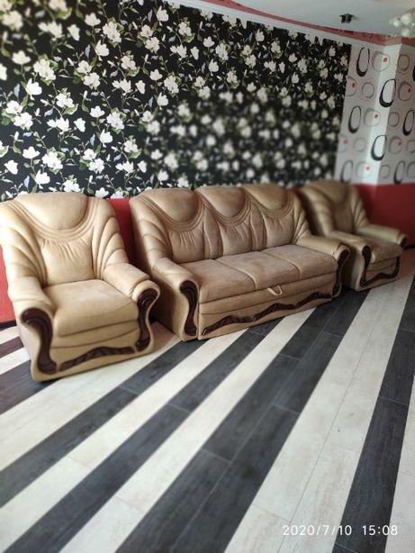 Можно ОТДЕЛЬНО Торг Новый диван-кровать + два кресла