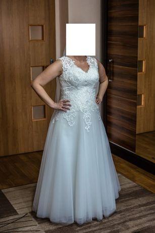 suknia ślubna ivory + żakiet, welon i wieszaki