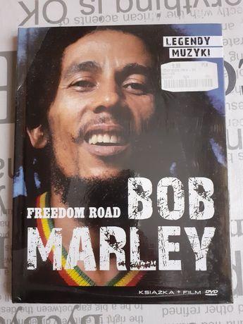 Bob Marley freedom road DVD + książka NOWA