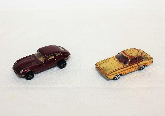 Playart Jaguar Type 242 / Faller Ford Capri