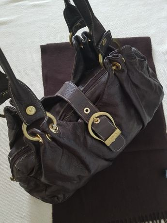 Skórzana torebka Vicosta.
