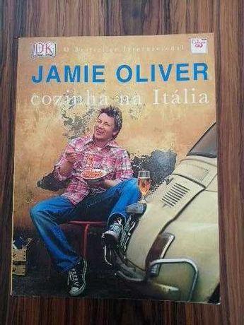 Jamie Oliver cozinha na Itália