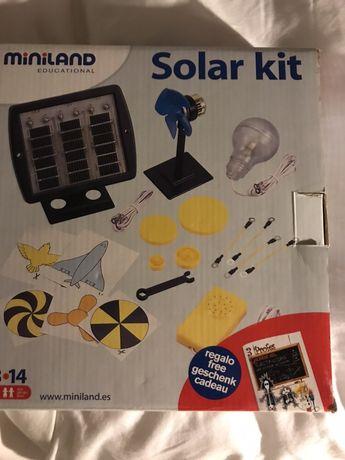 Kit solar miniland, 8-14