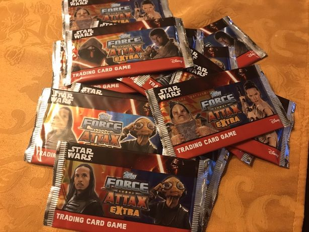 Karty Star Wars Attax Extra booster