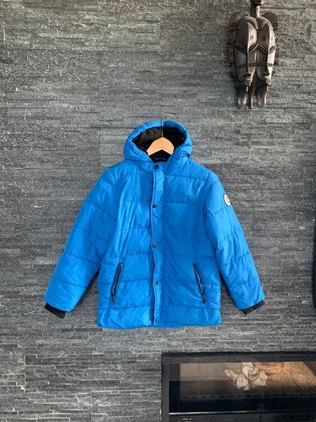 r. 146 cm / RESERVED niebieska kurtka zimowa