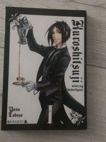 Manga Kuroshitsuji 1