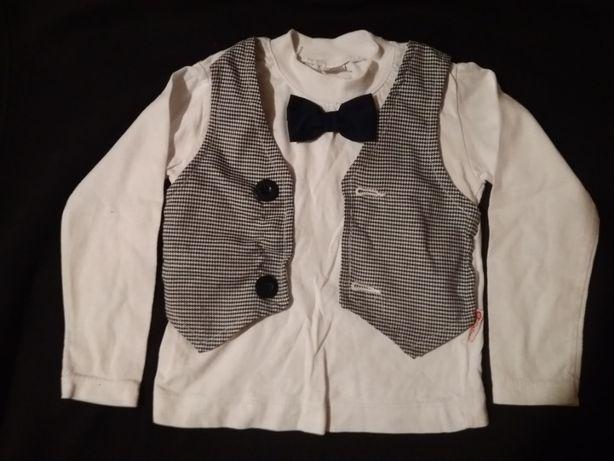 Новая фирменная кофточка, рубашка х/б на мальчика, 1 год, ОБМЕН