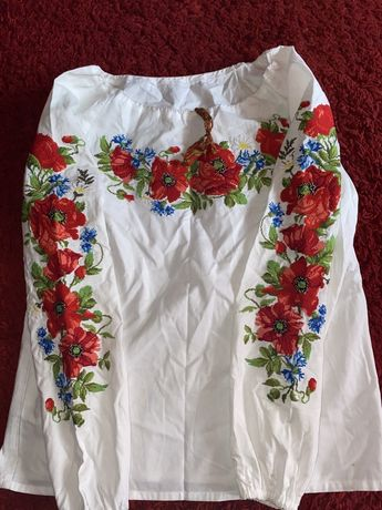 Вышиванка блузка вышивка вишиванка рубашка женская украинская