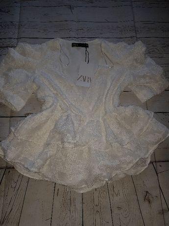 Блузка Zara. Оригинал, Испания