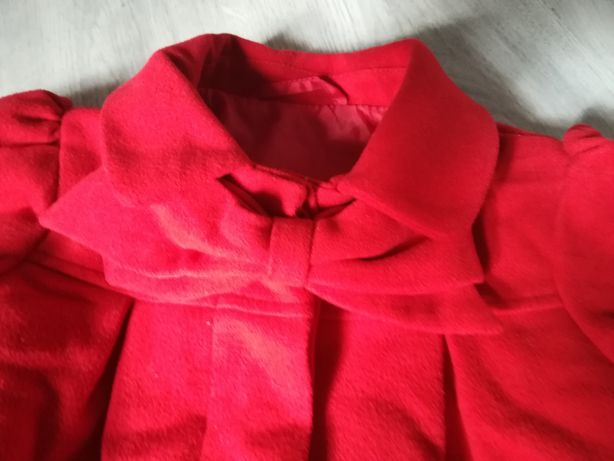 Płaszczyk czerwony