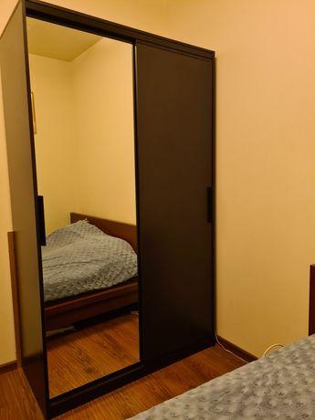 Szafa drzwi przesuwne 58x121x205 brąz Łódź