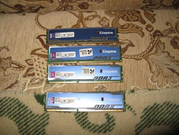 Комплект памяти Kingston DDR3-1600 4GB (Kit 2 x 2GB)