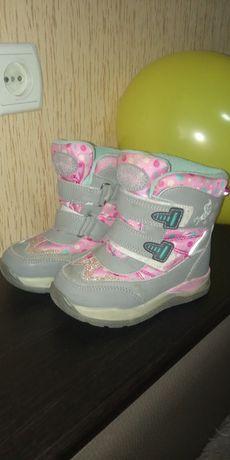 Термо чобітки для дівчинки
