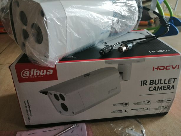 Kamera do monitoringu analogowa dahua HDCVI 80m zasięgu w nocy.