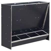autokarmnik poczwórny karmnik zasypowy z płyty PE - tzw plastikowy