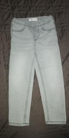 Jeansowe legginsy rozm 98