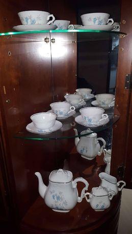 Serviço de chá de 15 peças vista alegre