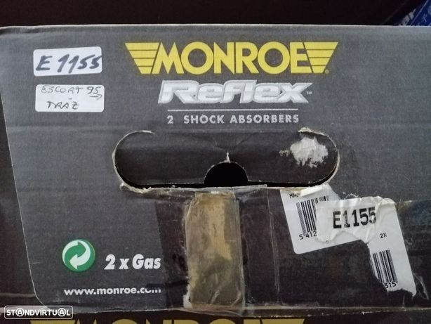 Par de amortecedores trás Ford Escort 1995--