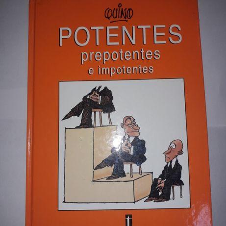 Livro Potentes, Prepotentes e Impotentes - Quino