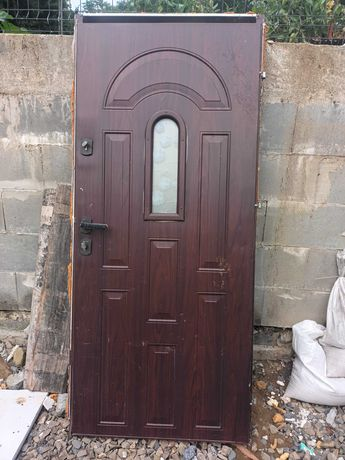 Drzwi metalowe wejdziowe