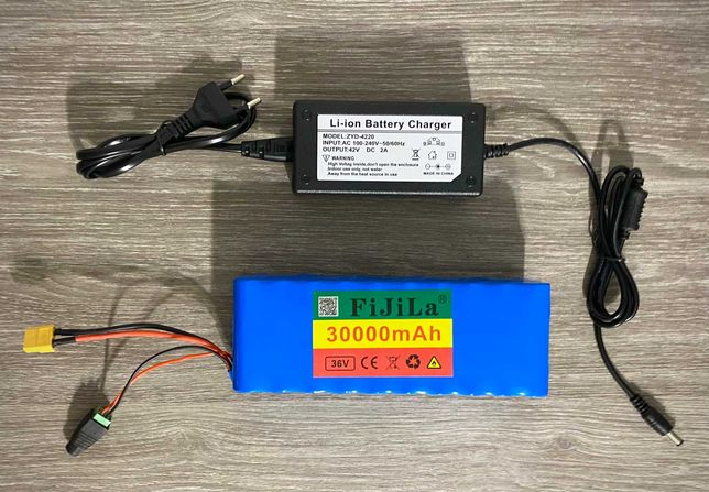 Аккумулятор 36V 30Ah + ЗАРЯДНОЕ\батарея Li-on электровелосипед самокат