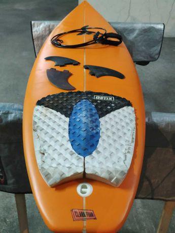 Pólen 6 Evolution Funboard prancha de surf deck Fins FCS torq nsp