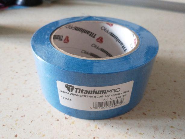 Taśma Zewnętrzna Blue UV 48mm x 50m