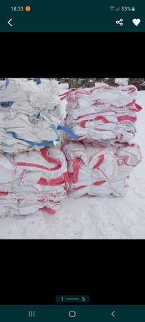Worki big bag 1000 kg używane jednokrotnie