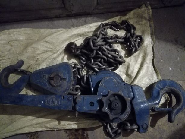 Wyciągarka łańcuchowa rugcug kifor 5 ton