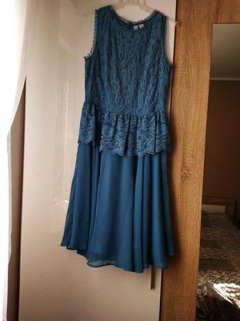 Sukienka niebieska ,rozm 38