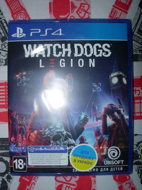 Watch Dogs: Legion. Новый Диск для РS4, оригинал, русский