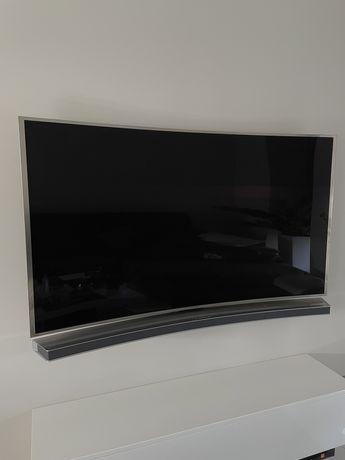Telewizor samsung 65cali z zakrzywionym ekranem soundbar