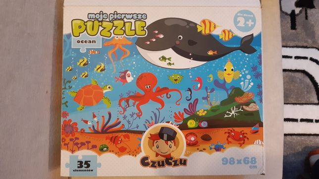 Puzzle ocean - dzieci 2+