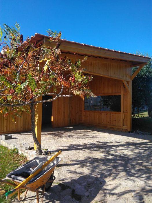 abrigo de jardim / garagem Madeira&Conforto