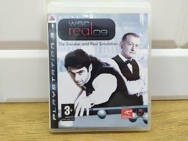 Wsc real 09 gra PlayStation 3 bilard