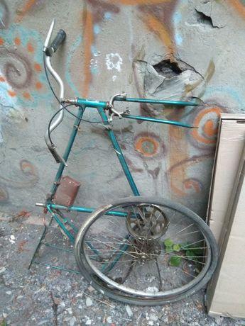 """Рама от велосипеда """"Турист"""""""