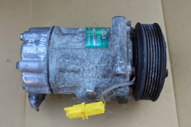 Sprężarka klimatyzacji PEUGEOT 206 1,6HDi Sanden SD6V12