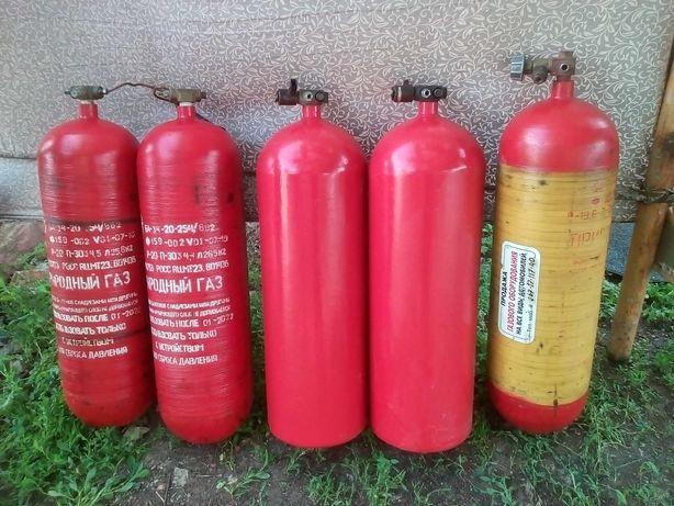 Газовые баллоны метан