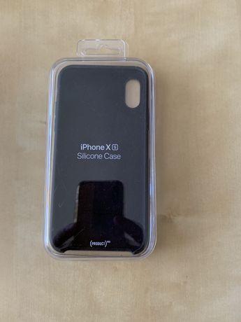 NOWE Case/ Silikonowe etui do iPhone'a XS CZARNE i CZERWONE