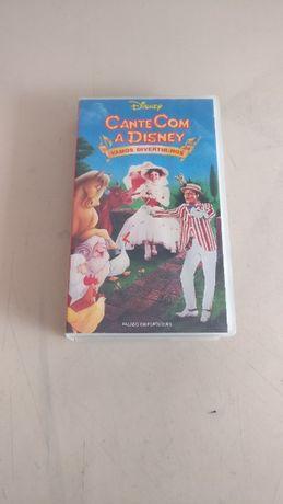 Cassete VHS: Cante Com a Disney 1995