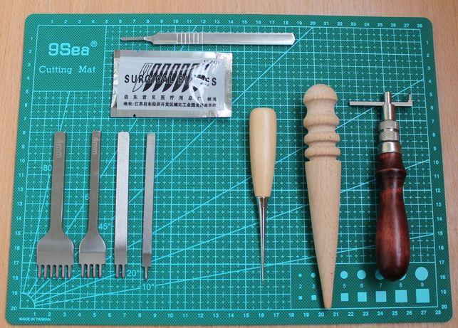 Набор инструментов для кожи 2 ( инструменты для кожи )