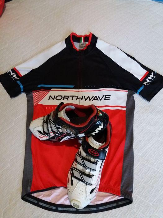 велотуфли =NorthWave= Carbon -45- +футболка Львов - изображение 1