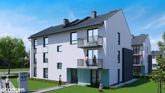 2-pokojowe mieszkanie z ogródkiem ok. 100 m2 M1B6