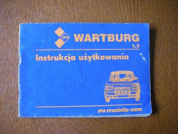 IFA Wartburg Instrukcja Użytkowania