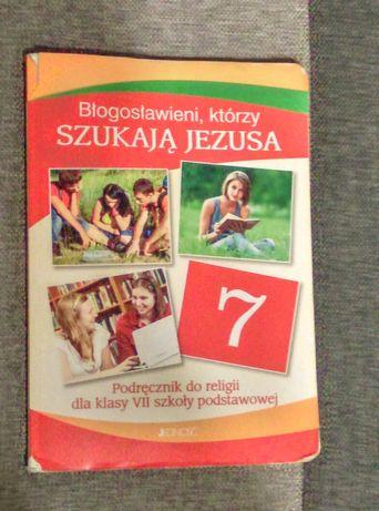Błogosławieni, którzy szukają Jezusa podręcznik do religii dla klasy 7