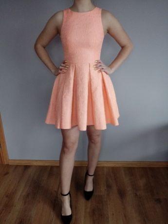 Sukienka pomarańczowa
