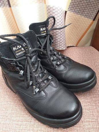 Кожаные зимние ботинки фирмы KARAT 39р.