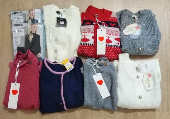 Осенний свитер/кофта  для девочки